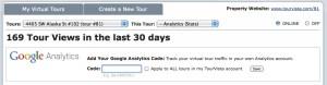 Google Analytics to Track Virtual Tour Statistics