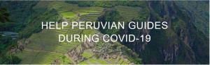 Helping Peruvan guides