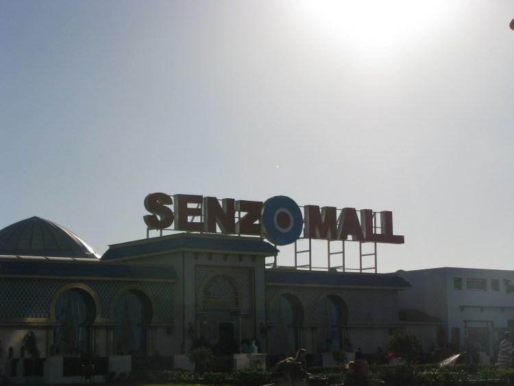 Senzo mall Hurghada Egypt