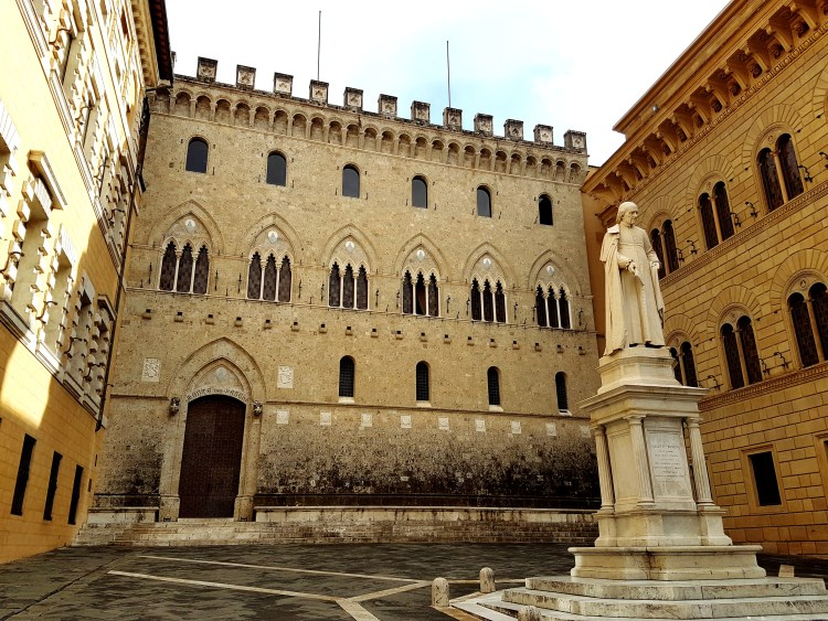 Banca Monte dei Paschi di Siena- the World's oldest Bank