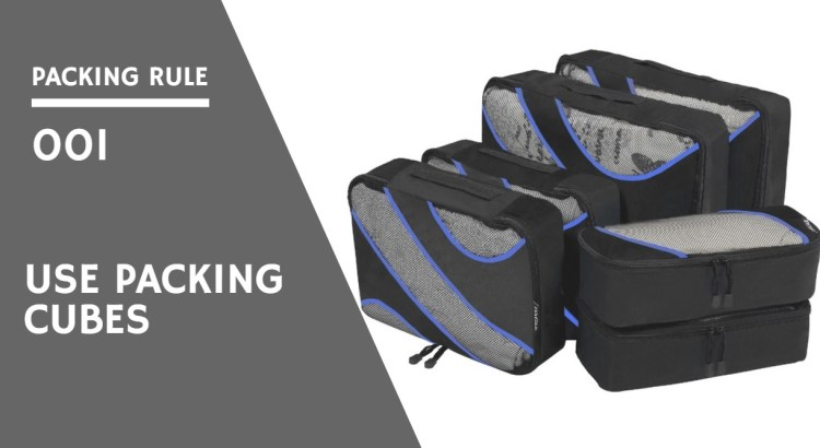 Bagail Packing Cubes