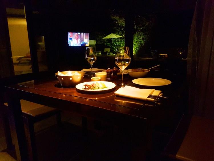In Villa Dining - Hilton Shillim Estate