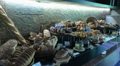 Overflowing Breakfast Bakery Buffet at Terrazzo - Hilton Shillim