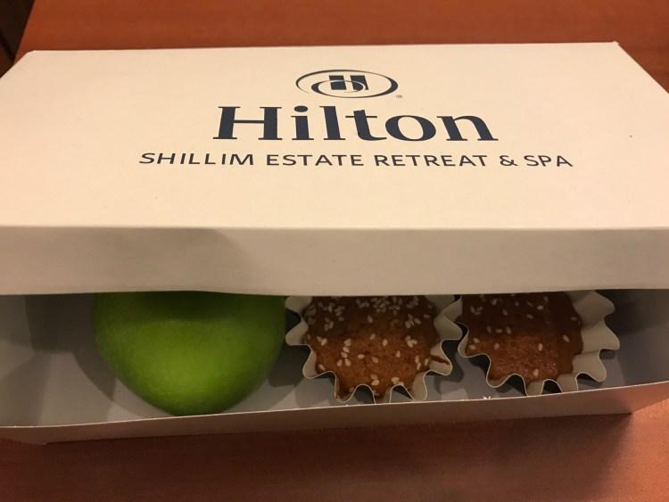 Parting Snack Boxes - Hilton Shillim Estate