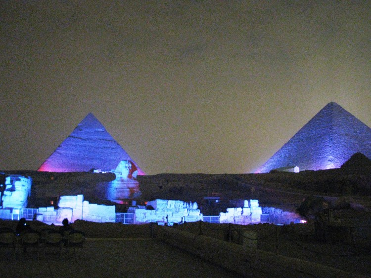 Pyramids! Sound and Light Show, Cairo