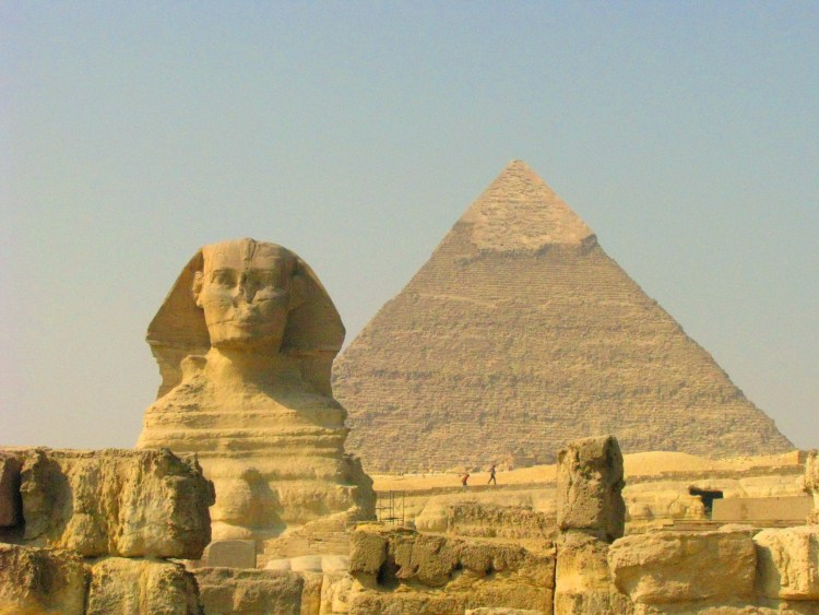 Sphinx Front View - Pyramids of Giza