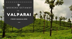 Bangalore to Valparai