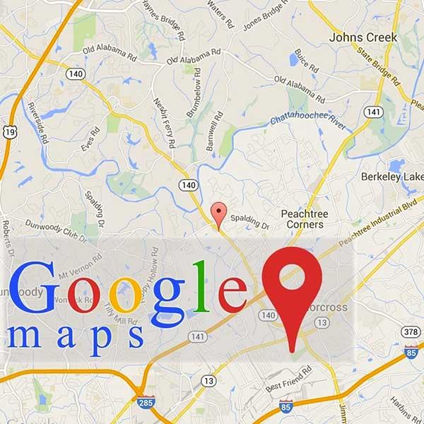 Google Map des UDM