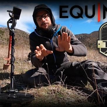 Minelab Equinox sur le terrain, Acte 1 !