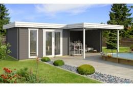 Abri de jardin Luxembourg , 44 mm , surface 11.55 m²