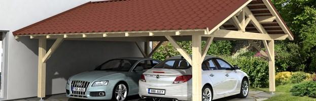 Carport double Granville, 43.5 m²
