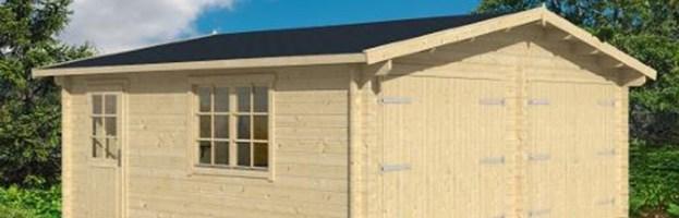 Double garage Dax 44mm, 28.4m² intérieur