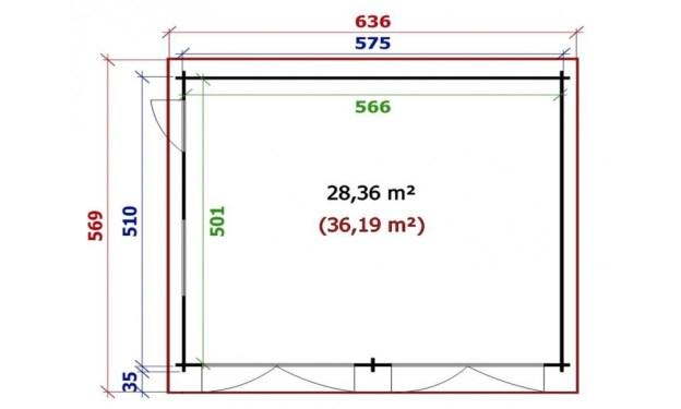 Plan du garage Dax