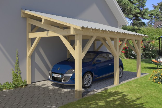 carport adossable