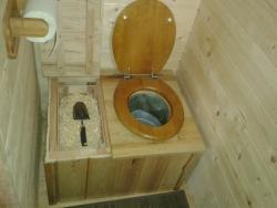 Des toilettes sèches dans votre abri