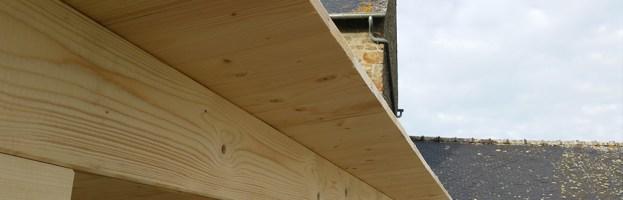 Voliges de toit : réussir l'alignement