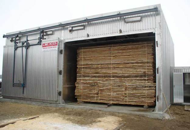 Le séchage du bois en séchoir artificiel