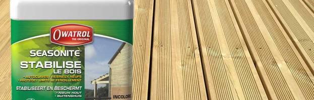 SEASONITE par Owatrol, stabilisateur pour bois neuf