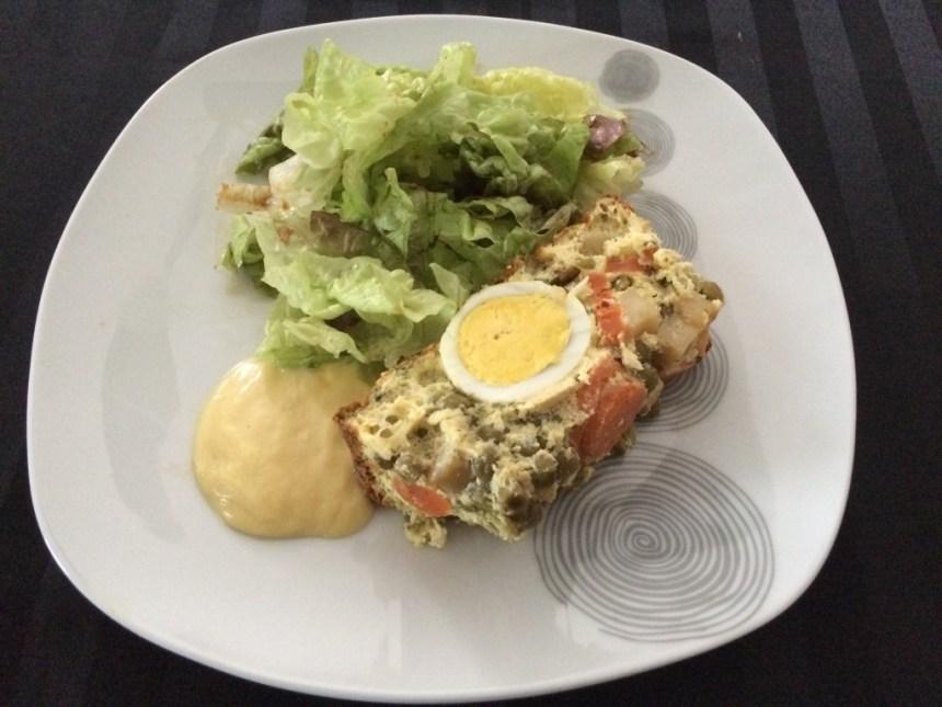 terrine de légumes aux oeufs et sa mayonnaise allégée 2