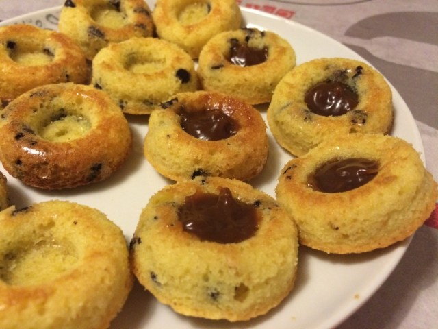 mini savarin chocolat thermomix