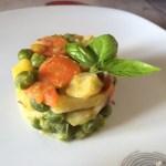 Jardinière de légumes aux lardons