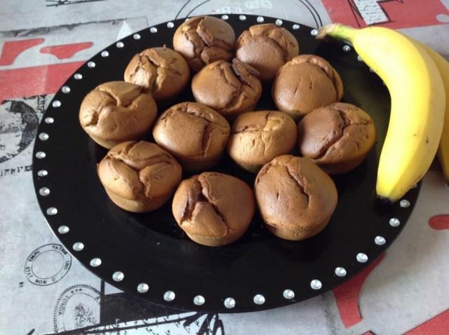 muffins à la (peau de) banane 2