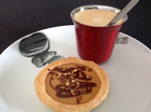 tartelettes à la confiture de lait café gourmand