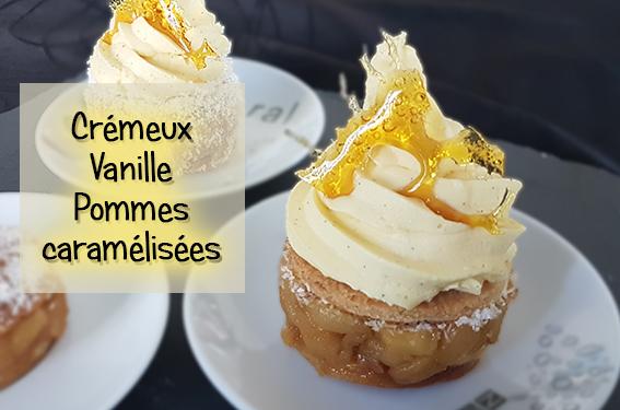 crémeux vanille pommes caramélisées thermomix