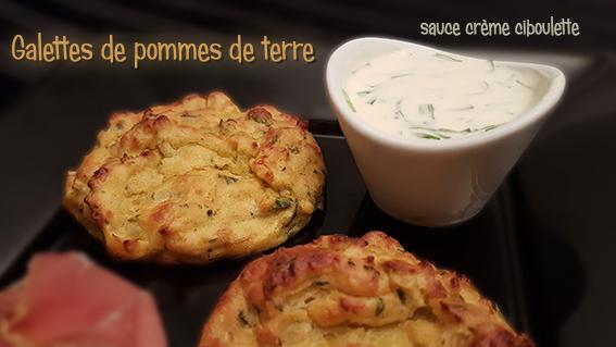 galettes pommes de terre thermomix