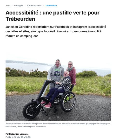 Article Le Trégor (presse)