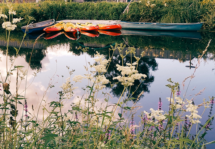 Gouarec, canal de Nantes à Brest