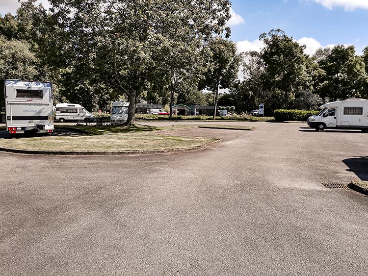 Gouarec, aire de camping-cars
