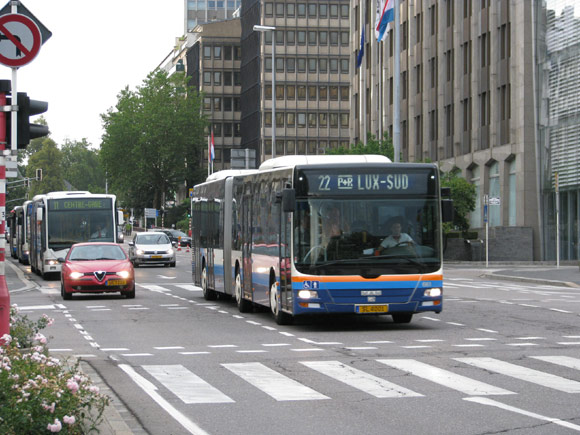 Bus Luxembourg