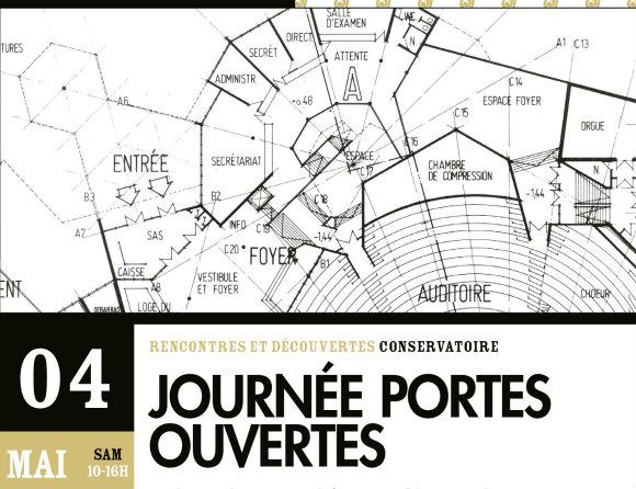 Affiche JPO Conservatoire Luxembourg 2013