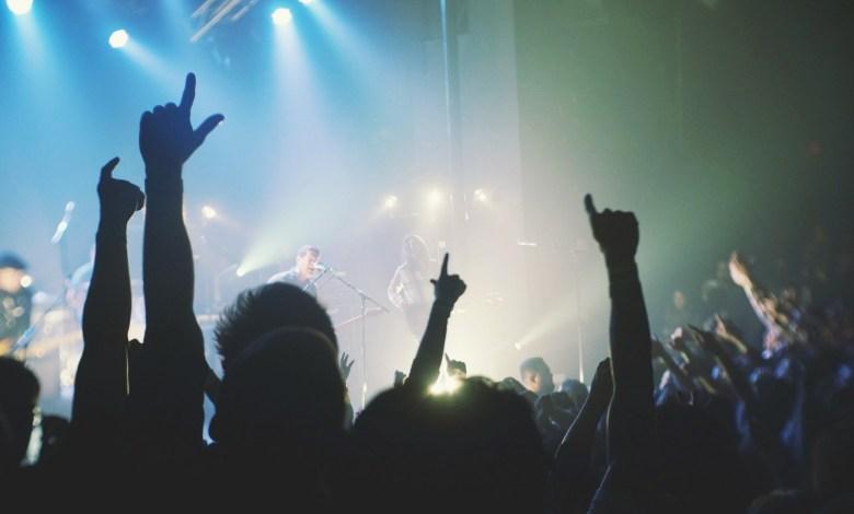 Photo of David Guetta en concert à la Rockhal