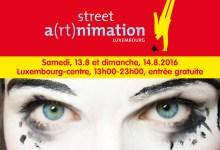 Photo of Le festival Streeta(rt)nimation envahit les rues de la capitale luxembourgeoise