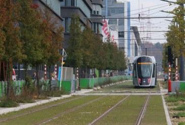 Le tram à Luxembourg inauguré