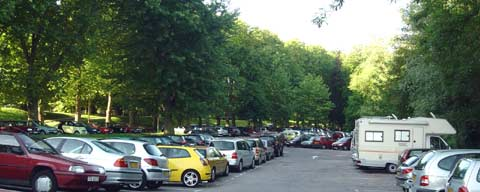 Parking du camping de Metz