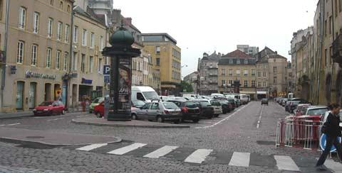 Parking Place St Louis à Metz
