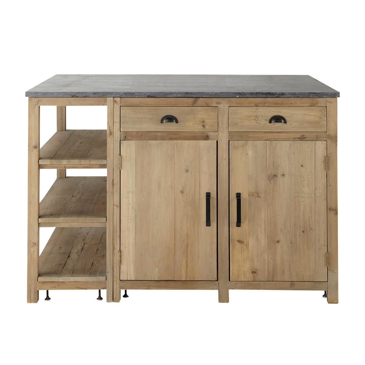 meuble cuisine independant bois tout