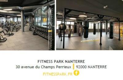 nouvel espace fitness park a nanterre