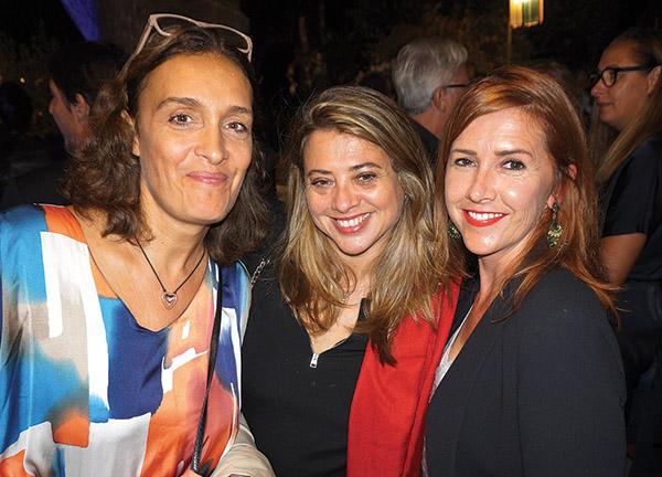 Ségolène Bakes COMME UNE IMAGE, Gaëlle DESHOULIERES D CONSULTING, Géraldine Dingwall OFFICE DE TOURISME AIX