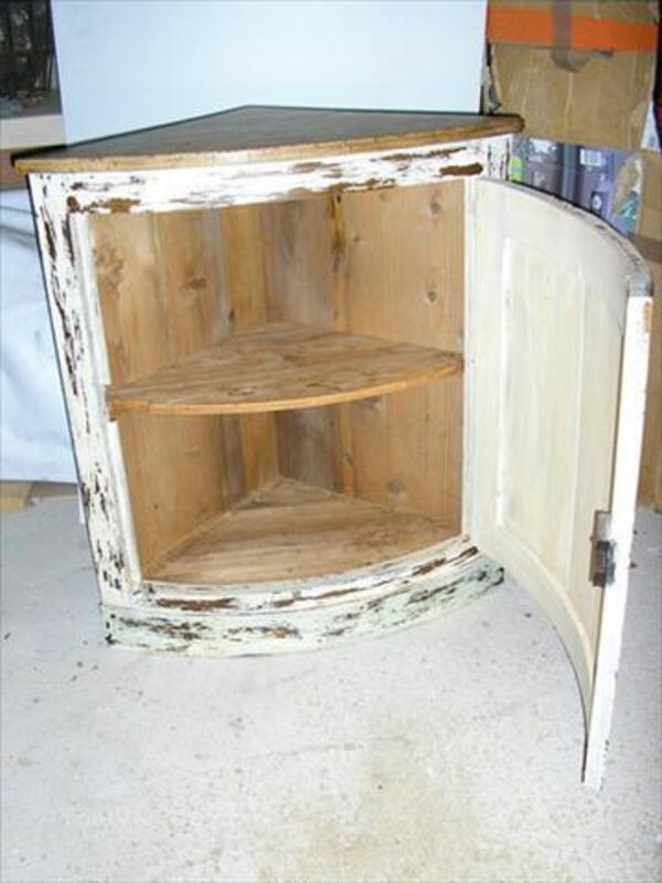 ancien meuble d angle en chene