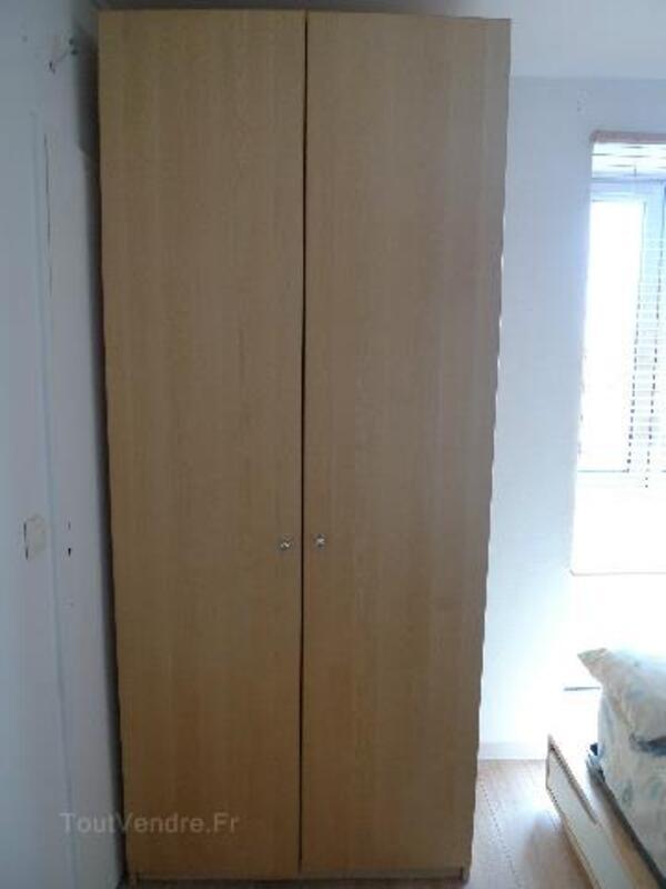 armoire pax ikea portes h230 bouleau