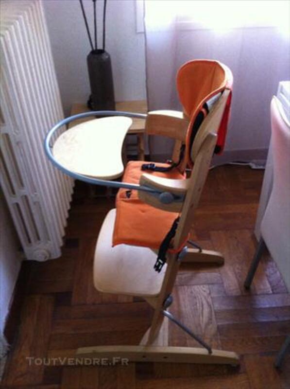 chaise haute bois bebe confort woodline