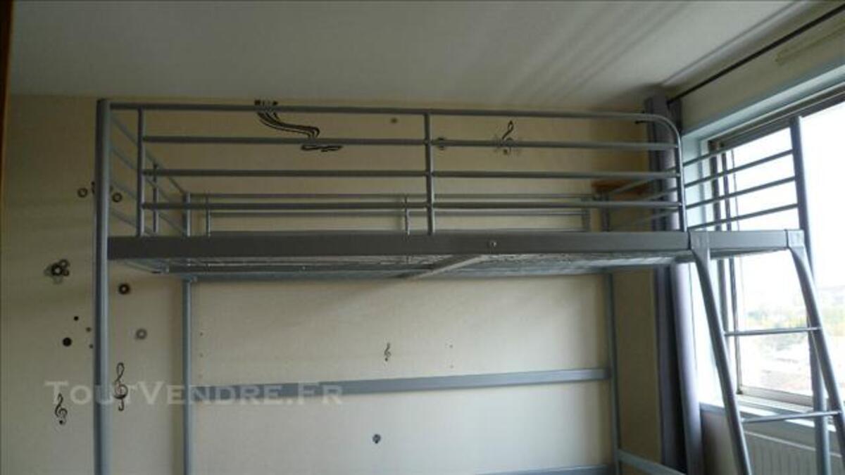 lit mezzanine 140 x 200 ikea tromso