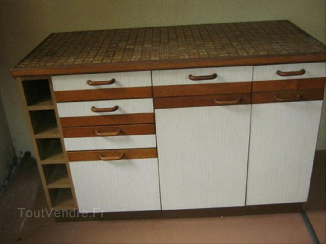 meuble bas de cuisine avec plan de