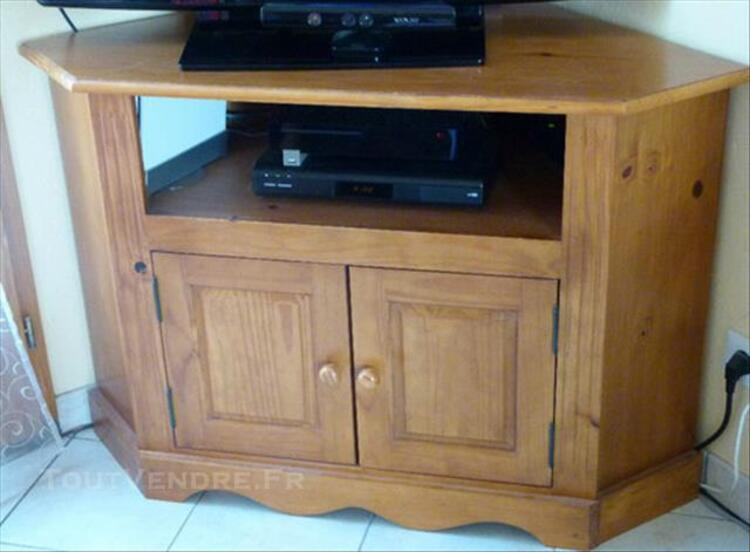 meuble d angle tv authentic style