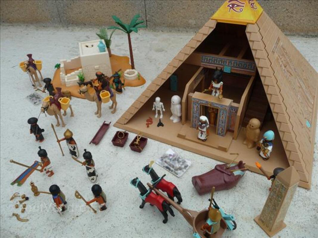 playmobil egypte pyramide 4240 4244