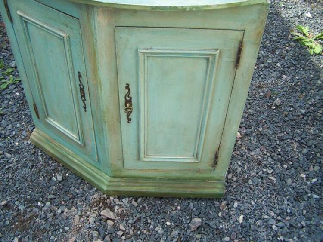 style ancien meuble d angle de coin
